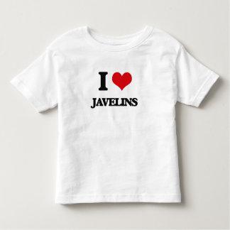 I Love Javelins Toddler T-Shirt