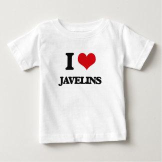 I Love Javelins Tees