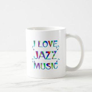 I Love Jazz Coffee Mug