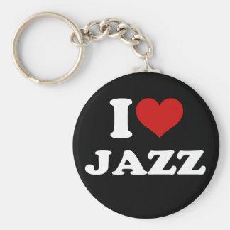 I Love Jazz Key Ring