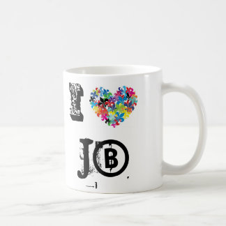 I love JB Coffee Mug