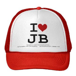 I love JB trucker hat