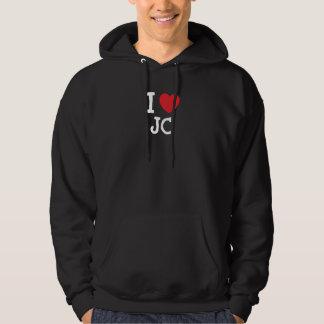 I love JC heart custom personalized Hoodie