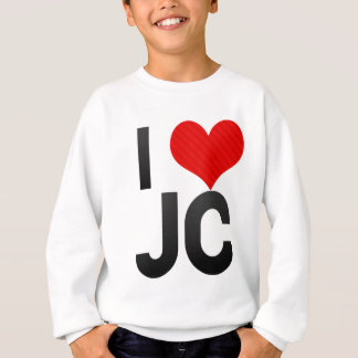 I Love JC Sweatshirt