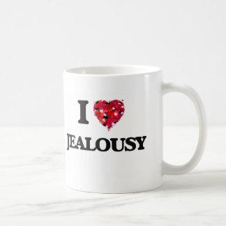 I Love Jealousy Basic White Mug