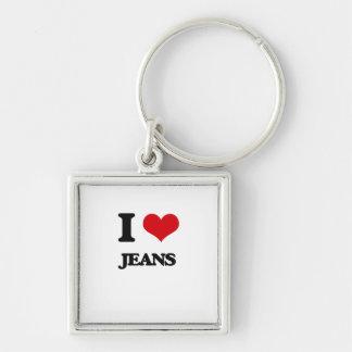 I Love Jeans Key Chains