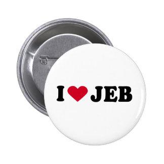 I LOVE JEB PIN