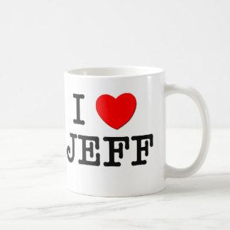 I Love Jeff Mugs