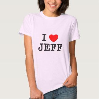 I Love Jeff T Shirts