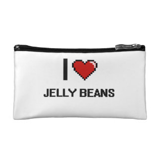 I Love Jelly Beans Cosmetic Bag
