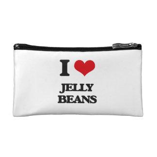 I Love Jelly Beans Makeup Bag