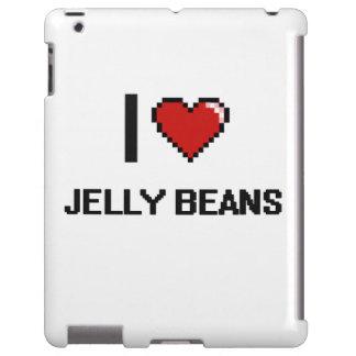 I Love Jelly Beans iPad Case