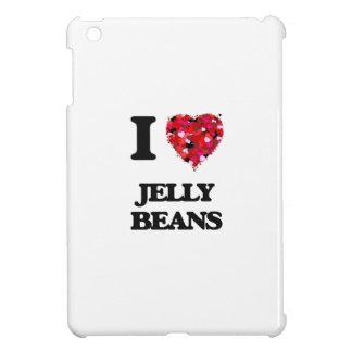 I Love Jelly Beans food design iPad Mini Cases