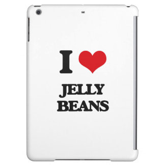 I Love Jelly Beans iPad Air Covers