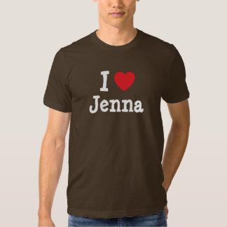 I love Jenna heart T-Shirt