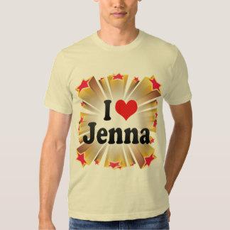 I Love Jenna Shirt