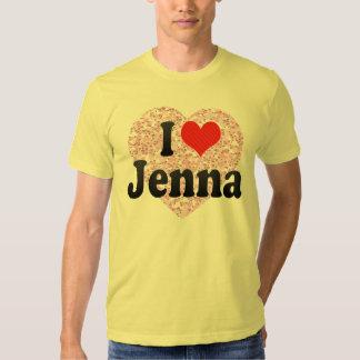 I Love Jenna Tees