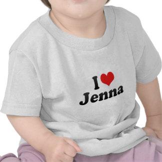 I Love Jenna T Shirts