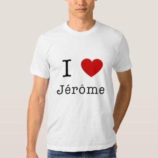 I LOVE JEROME T-SHIRTS