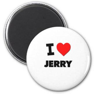 I love Jerry 6 Cm Round Magnet