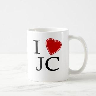 I Love Jersey City Basic White Mug