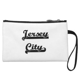 I love Jersey City New Jersey Classic Design Wristlet