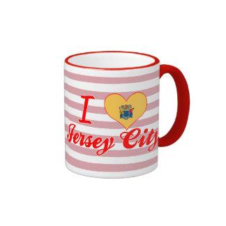 I Love Jersey City New Jersey Coffee Mugs