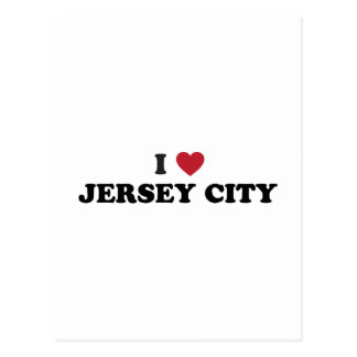 I Love Jersey City New Jersey Post Card