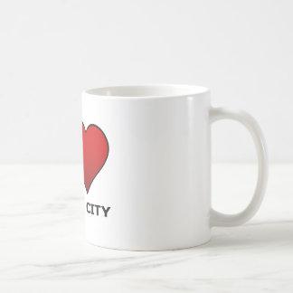 I LOVE JERSEY CITY,NJ - NEW JERSEY BASIC WHITE MUG