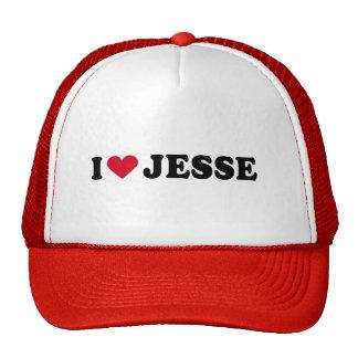 I LOVE JESSE MESH HATS