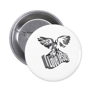I Love Jesus Badge