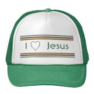 I Love Jesus Trucker Hat