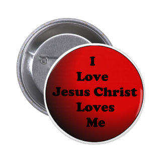 I Love Jesus Christ Button
