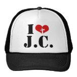 I Love Jesus Christ Mesh Hat