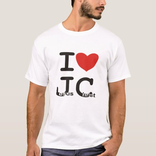 I Love Jesus Christ Shirt