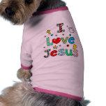 I Love Jesus Dog Clothes