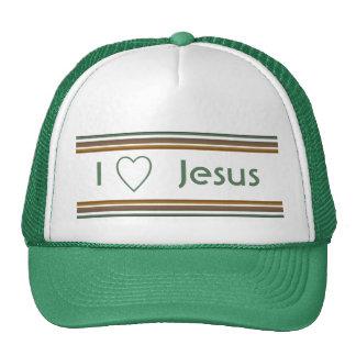I Love Jesus Mesh Hat