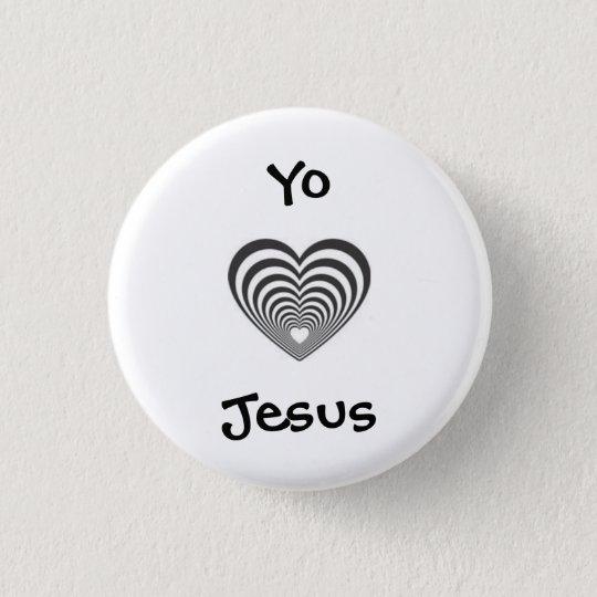 I love Jesus in spanish 3 Cm Round