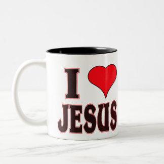 I Love Jesus -- Mug