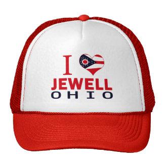 I love Jewell, Ohio Cap