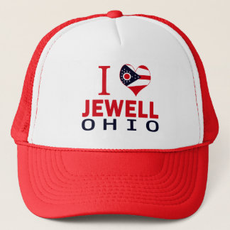 I love Jewell, Ohio Trucker Hat