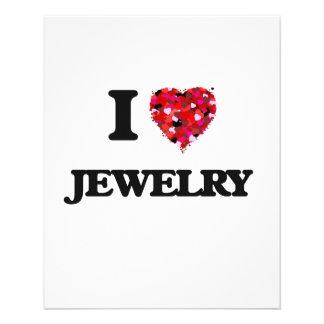 I Love Jewelry 11.5 Cm X 14 Cm Flyer