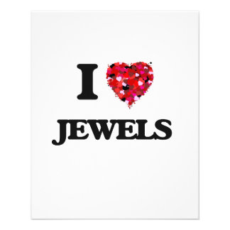 I Love Jewels 11.5 Cm X 14 Cm Flyer