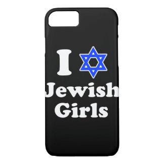 I Love Jewish Girls iPhone 7 Case