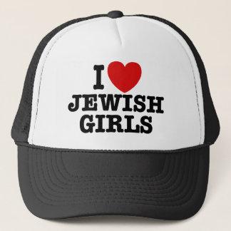 I Love Jewish Girls Trucker Hat