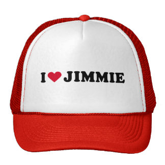 I LOVE JIMMIE MESH HAT