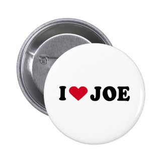 I LOVE JOE BUTTONS
