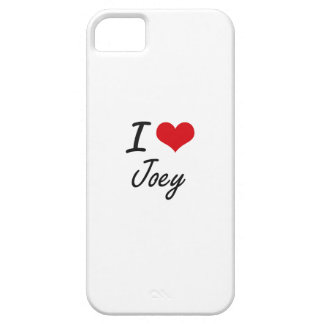 I Love Joey Barely There iPhone 5 Case