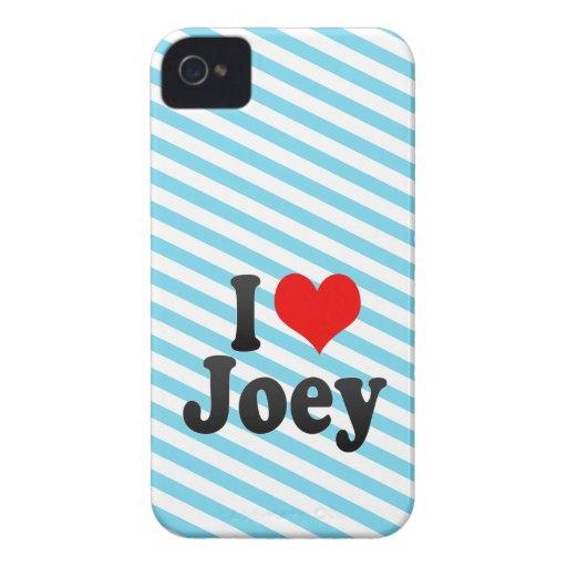 I love Joey Blackberry Case