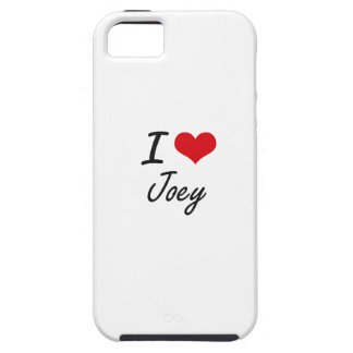 I Love Joey iPhone 5 Cover